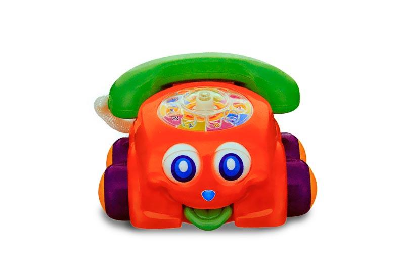 تصویر شماره 2  تلفن متحرک موزیکال زنگ دار کودک