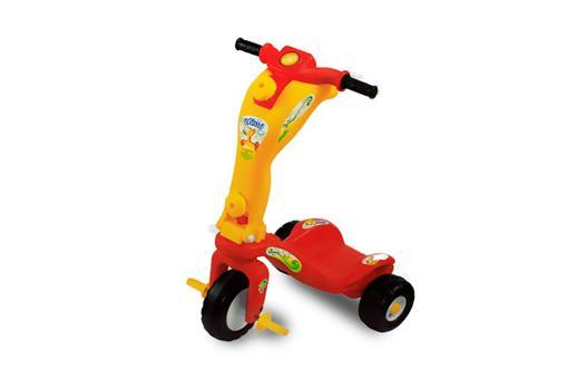 اسباب-بازی-سه چرخه اسکوتر شونده کودک