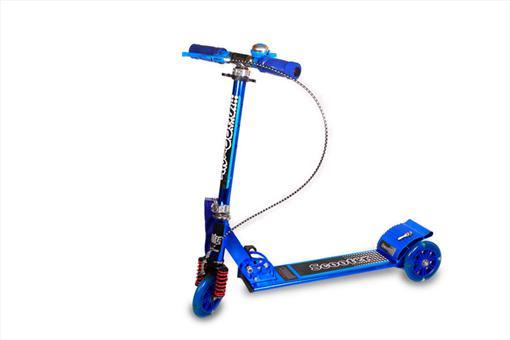 اسباب-بازی-اسکوتر چرخ ژلاتینی ترمز دار بزرگ