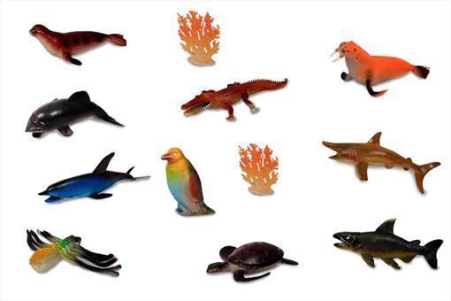 اسباب-بازی-ست حیوانات دریایی