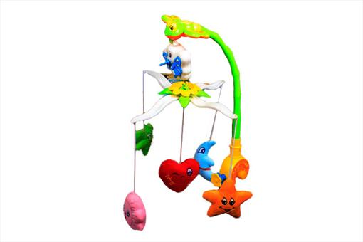 اسباب-بازی-آویز تخت موزیکال پولیشی