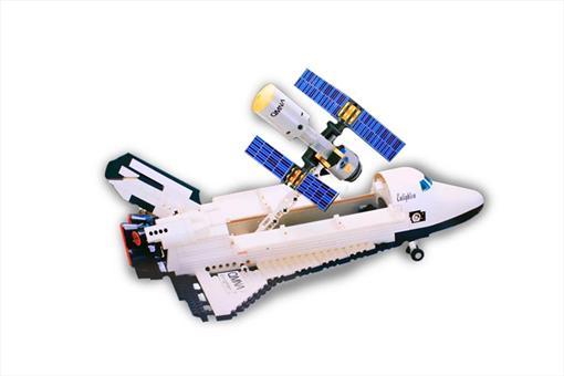 اسباب-بازی-لگو شاتل فضایی 593 تکه