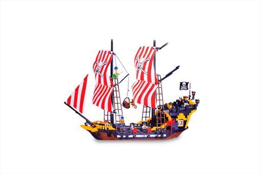 اسباب-بازی-لگو کشتی دزدان دریایی مروارید سیاه 870 تکه