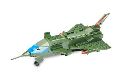 اسباب-بازی-لگو هواپیمای جنگی 197 تکه