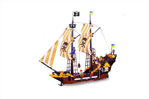 اسباب-بازی-لگو کشتی دزدان دریایی 590 تکه