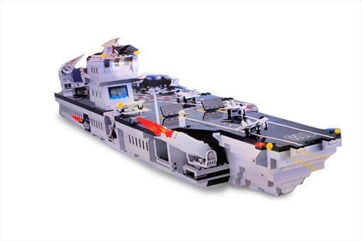 اسباب-بازی-لگو ناو جنگی 990 تکه بزرگ