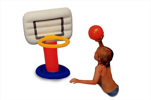 اسباب-بازی-بسکتبال بادی آبی اینتکس