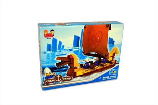 اسباب-بازی-لگو کشتی
