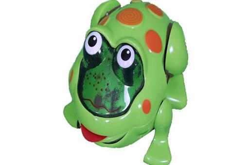 اسباب-بازی-قورباغه سبز معلق زن