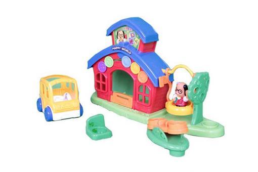 اسباب-بازی-خانه عروسکی مهد کودک آموزش و بازی