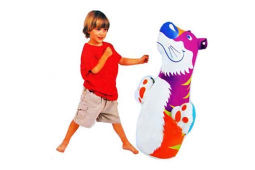 اسباب-بازی-کیسه بوکس بادی کف آب طرح خرس اینتکس