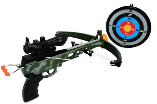 اسباب-بازی-تفنگ تیر و کمان ارتشی کوچک