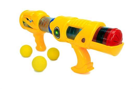 اسباب-بازی-تفنگ با گلوله های توپ ابری