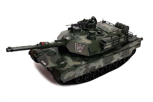 اسباب-بازی-تانک کنترلی شارژی شلیک کن بزرگ