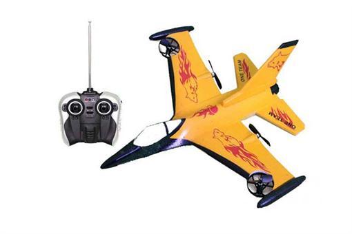 اسباب-بازی-هواپیمای پروازی 4 کانال 4 موتور