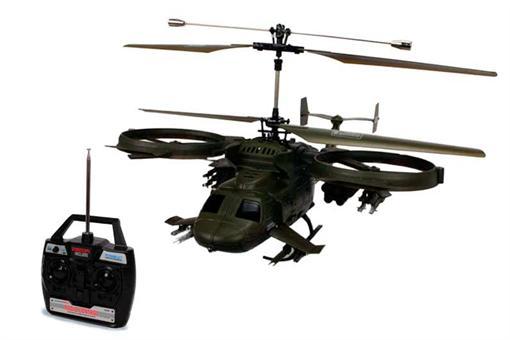 اسباب-بازی-هلی کوپتر بالدار 4کانال ارتشی