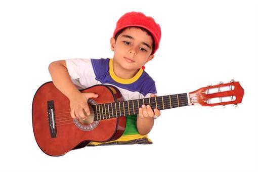 اسباب-بازی-گیتار چوبی بزرگ