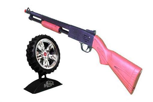 اسباب-بازی-تفنگ لیزری سیبل دار