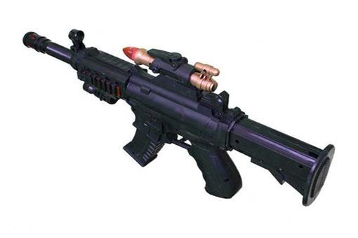 اسباب-بازی-تفنگ جعبه مشکی