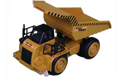 اسباب-بازی-ماکت نیمه فلزی کامیون خاکبرداری عقب کش