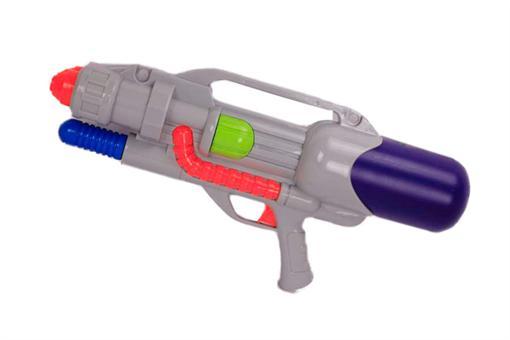 اسباب-بازی-تفنگ آب پاش پمپی دو لول 57 سانتی