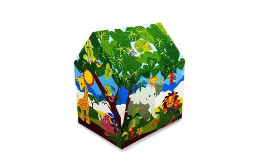 اسباب-بازی-چادر اینتکس طرح جنگل