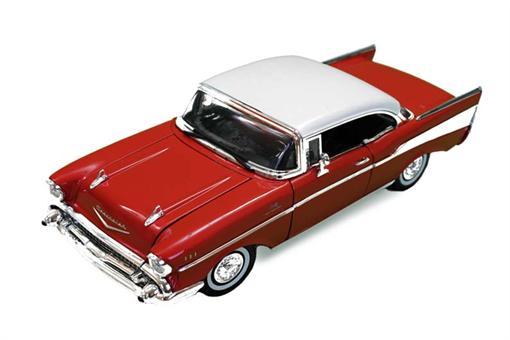اسباب-بازی-ماکت فلزی ماشین شورلت بل ایر 1957