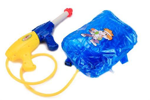 اسباب-بازی-تفنگ آب پاش پمپی با مخزن خمره ای