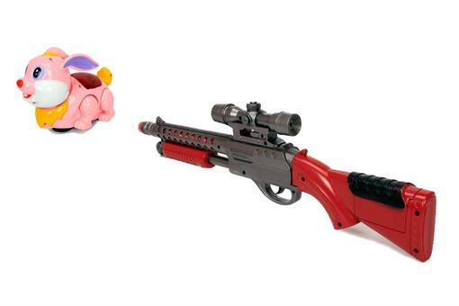 اسباب-بازی-تفنگ شکار حیوانات خرگوش