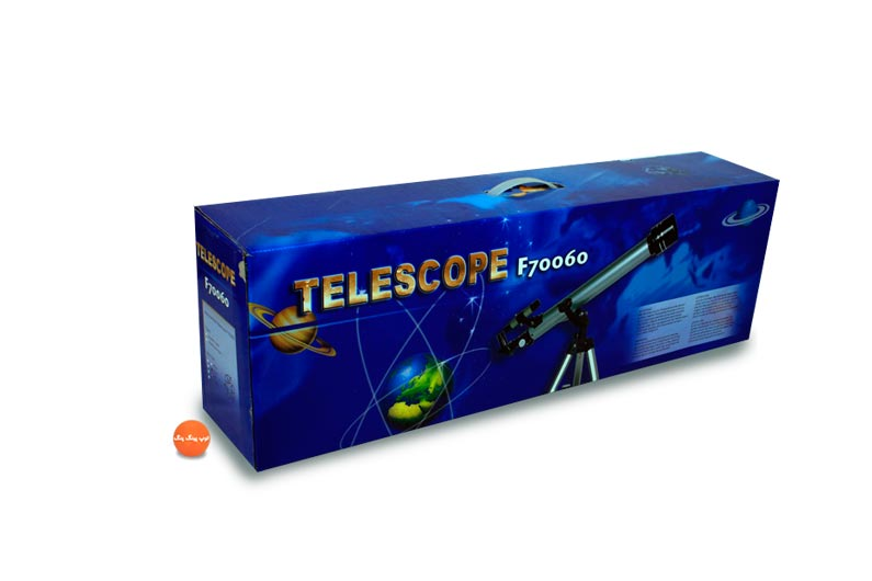تصویر شماره 1  تلسکوپ جعبه ای گالیله ای جعبه آبی 70060