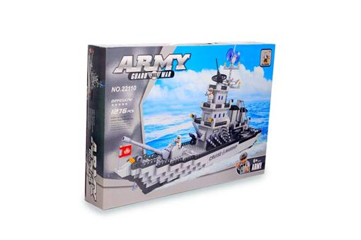 اسباب-بازی-لگو کشتی نظامی ١٢٧٦ قطعه