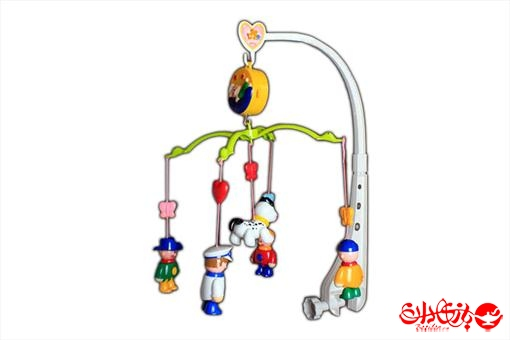 اسباب-بازی-آویز تخت موزیکال طرح کودک