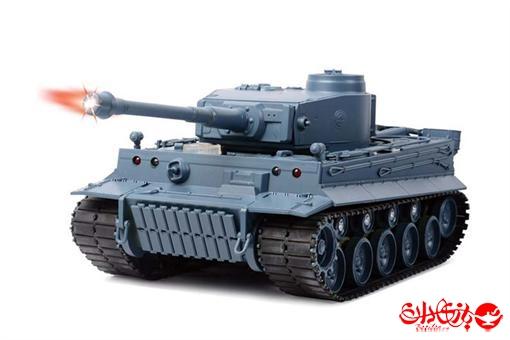 اسباب-بازی-تانک شلیک کن رادیو کنترلی ارتشی آلمانی طوسی