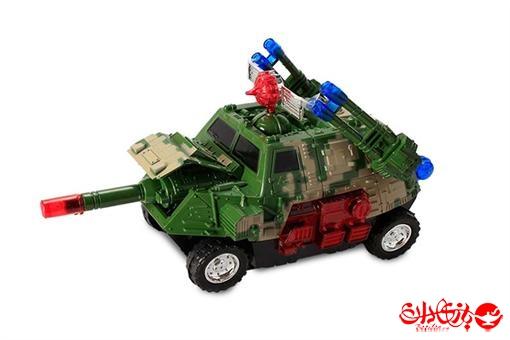 اسباب-بازی-ماشین تانکی موزیکال چراغ دار