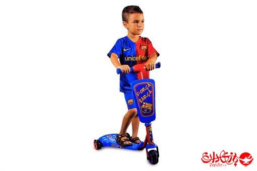 اسباب-بازی-اسکوتر بارسا