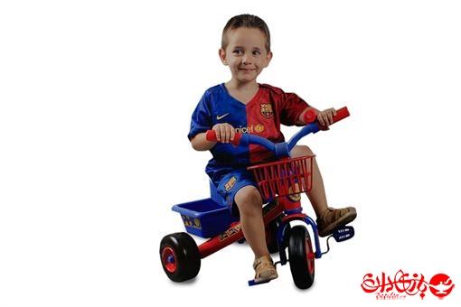 اسباب-بازی-سه چرخه سبد دار بارسلونا مارک کولوما