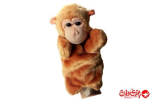 اسباب-بازی-عروسک های پولیشی نمایشی طرح میمون