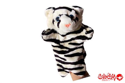 اسباب-بازی-عروسک های پولیشی نمایشی طرح ببر
