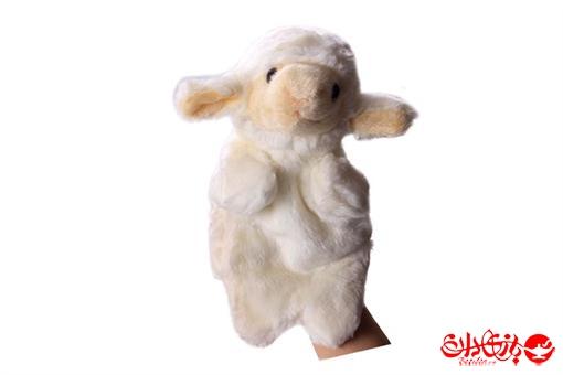 اسباب-بازی-عروسک های پولیشی نمایشی طرح بره سفید