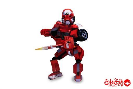 اسباب-بازی-لگو ربات ترانسفورمر قهرمان آتش 201 تکه