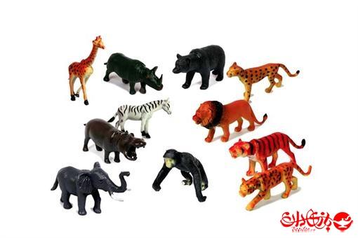 اسباب-بازی-ست حیوانات باغ وحش