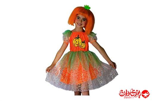 اسباب-بازی-لباس نمایشی شخصیت کدو تنبل پرتقالی