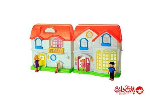 اسباب-بازی-خانه عروسکی صدادار با لوازم