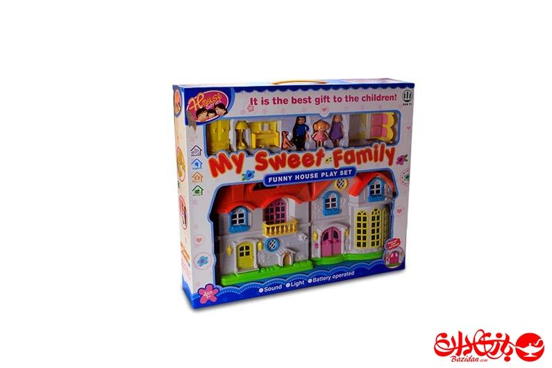 تصویر شماره 4  خانه عروسکی صدادار با لوازم
