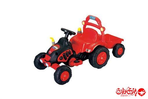 اسباب-بازی-ماشین شارژی تراکتور V١ تک موتوره