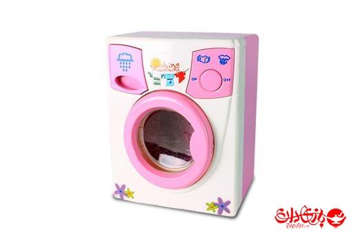 اسباب-بازی-ماشین لباسشویی صدادار واقعی