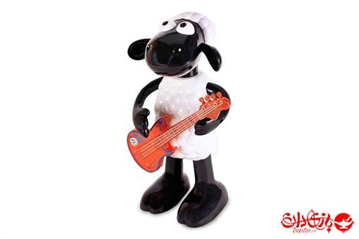 اسباب-بازی-بره ناقلا گیتار زن موزیکال