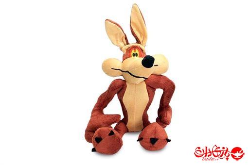 اسباب-بازی-عروسک پولیشی خارجی کایوت کارتن میگ میگ سایز 2