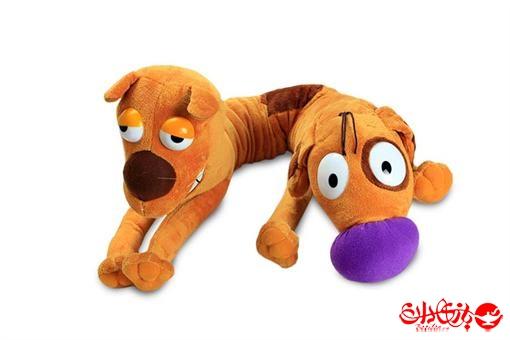 اسباب-بازی-عروسک پولیشی خارجی گربه سگ سایز 2