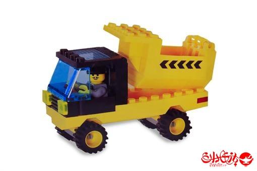 اسباب-بازی-لگو مینی کامیون خاک برداری 86 تکه